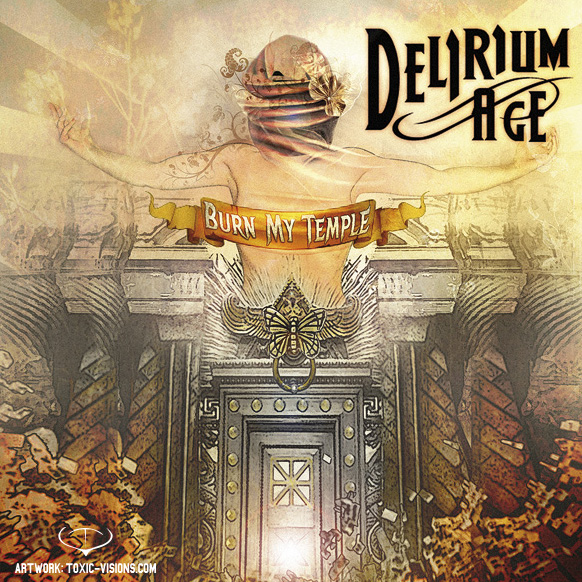 Delirium Age_Burn My Temple_CD Cover+LOGO