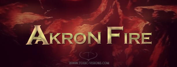 Akron Fire - Logo Design by Toxic Visions