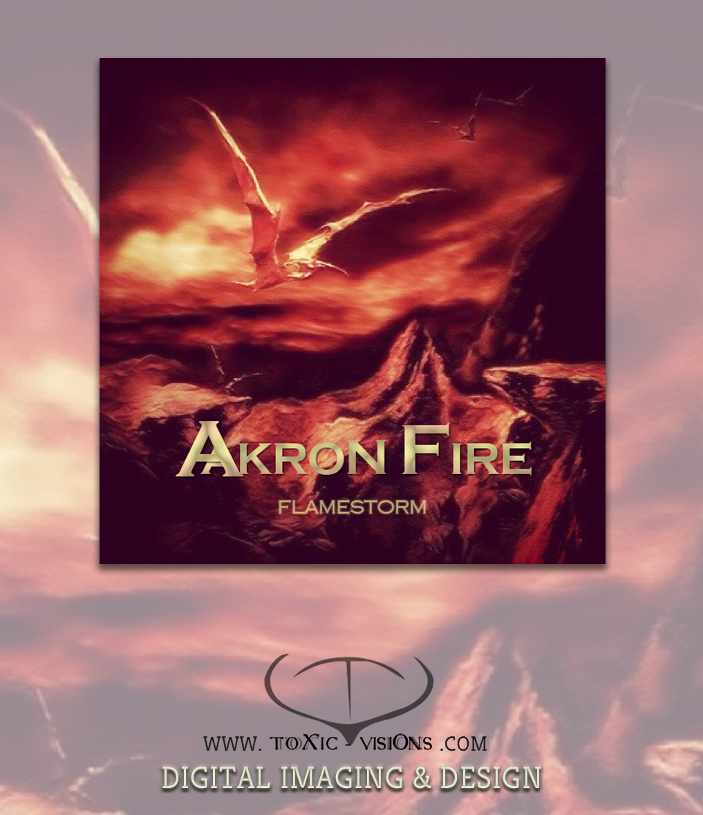 Akron Fire - Cd Cover Artwork