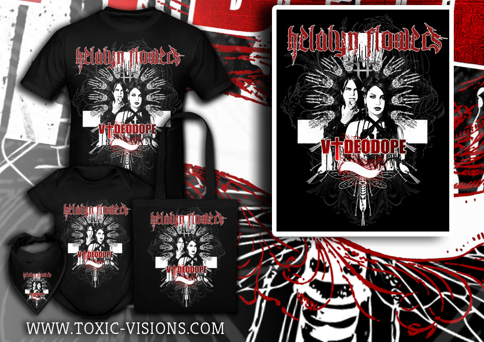 Videodope merchandise design  by Toxic Visions / © Copyright. All rights reserved
