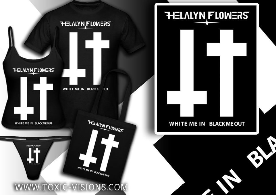 White Me In Black Me Out merchandise design  by Toxic Visions / © Copyright. All rights reserved