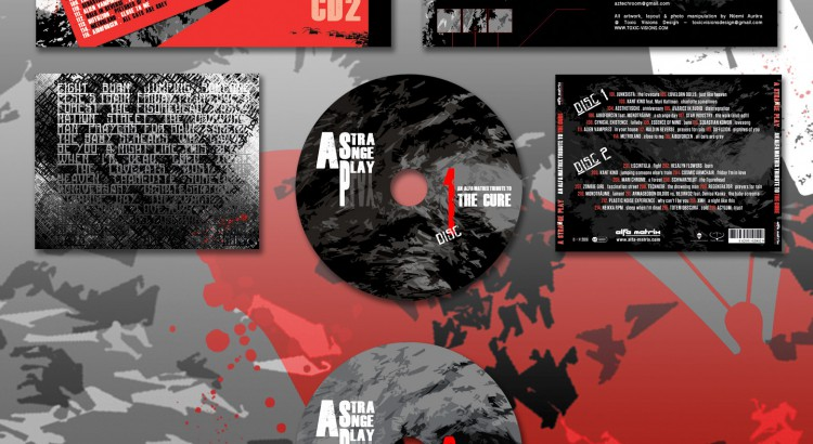 A Strange Play - An Alfa Matrix Tribute to The Cure / 8pages booklet 2 CD jewel casedesign by Toxic Visions / © Copyright. All rights reserved