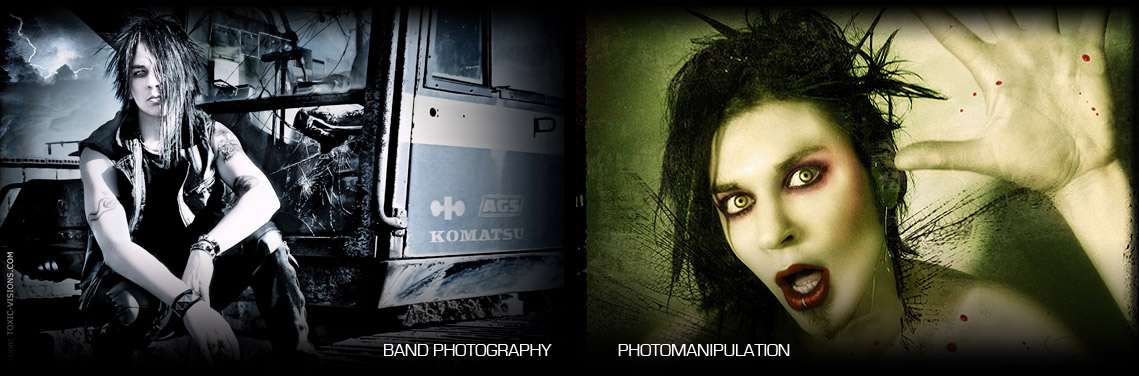 Band Photography / Photomanipulation
