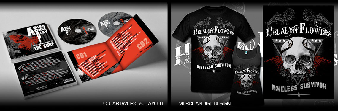 Cd Artwork / Layout / Merchandise Design