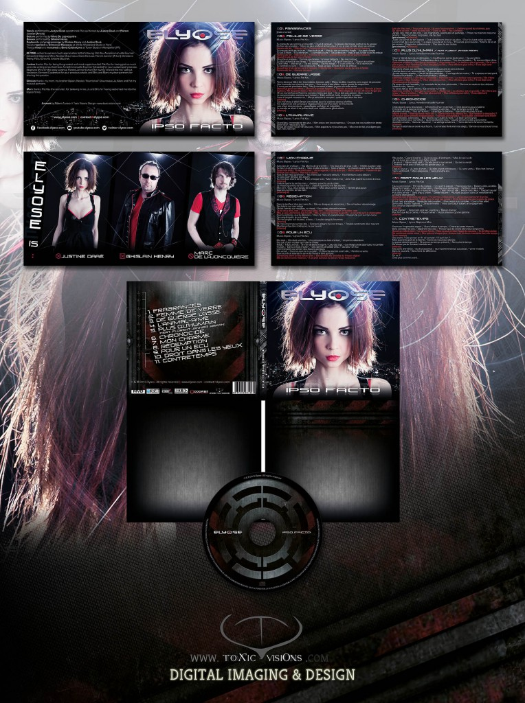 Elyose - Ispo Facto - Cd Digipack 2 Panels