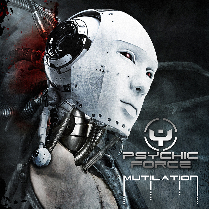 THE PSYCHIC FORCE 'Mutilation' Cover Artwork by Toxic Visions Design